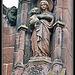 Eastham church statue