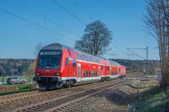 Regionalbahn nach Zwickau