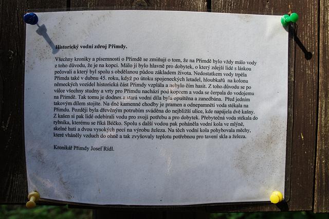 Gut, wer Tschechisch kann!