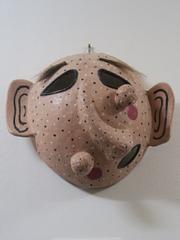 Masque de vieille femme, Musée du masque, Hahoe (Corée du Sud)