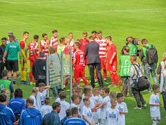Der Zweitplatzierte im Sächsischen Landespokal