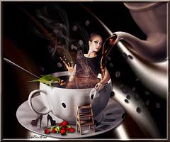 Au café des délices...