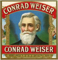 Conrad Weiser Cigar Label