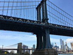 Two Bridges Over the East River