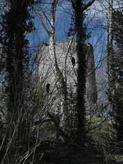 Bronllys Castle, Wales