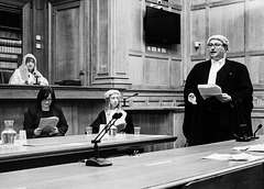 Re-Enactment of the Trial of William Burke and Helen MacDougal