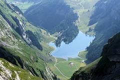 Seealpsee am Alpstein,  Appenzeller Land
