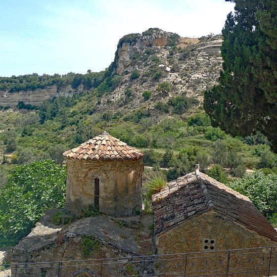 Greece - Crete, Eleftherna: Sotiras Christos Church