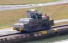 Miraflore Locks Towing Locomotive