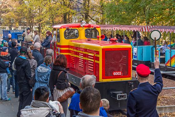 Lok Nr. 6003 der Chemnitzer Parkeisenbahn