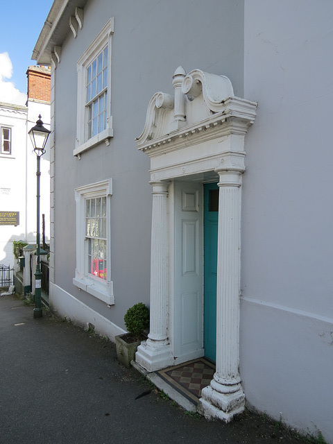 doorcase, 9 church st,  modbury , devon