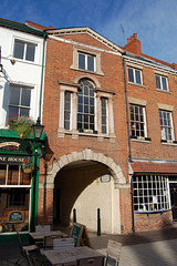 Entrance to Prince Street from Fish Street, Kingston upon Hull