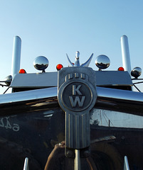 Kenworth chrome