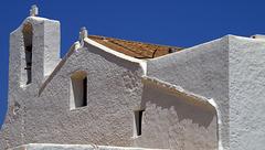 Steeple at Sant Carles