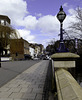 Guildford Millbrook town bridge view up the High Street