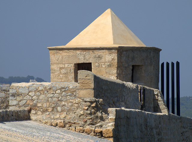 Corner Tower at Ibiza Town Castle