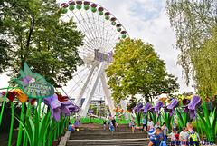 Schlesischer Park,Chorzow Polen