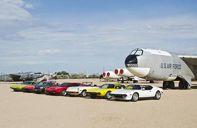 Fun Italian Automobiles of Tucson (FIAT) at Pima Air and Space Museum