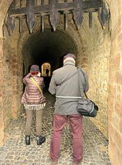 Im Schloss Wernigerode: Zwei Schauen in die Röhre!...
