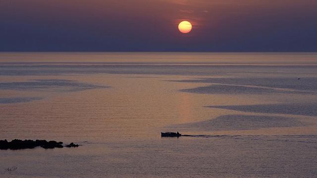 cretan sunrise