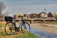 Sul greto della Parma