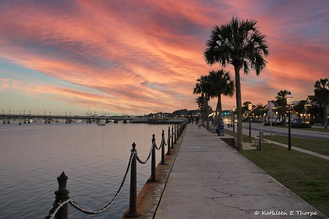St. Augustine Sunshine Rising