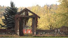 Gate West Fraser Timber Park. - Quesnel, BC