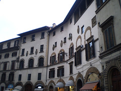 Old façades.
