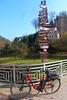 Radfahren im Frühling - bicikli en printempo
