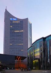 Leipzig's einziges Hochhaus