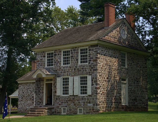 Wahington's Quarters at Valley Forge