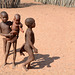 Namibia, Himba Children in the Village of Onjowewe