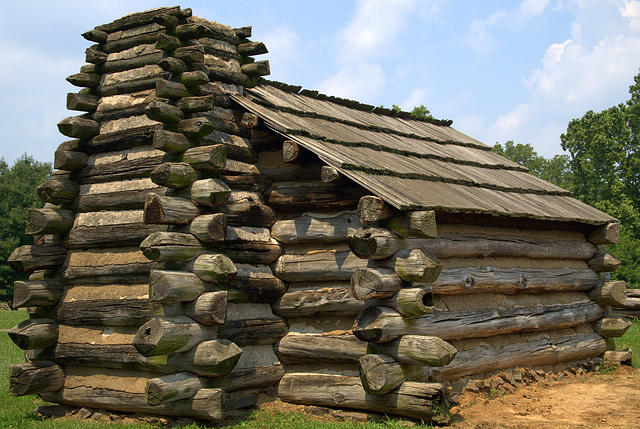 Soldier's Quarters at Valley Forge