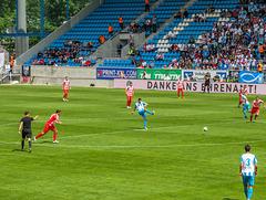 Anstoß zum Sachsenpokal-Finale 2018/19