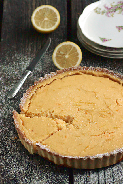 Delia Smithi sidrunikook / Delia Smith's lemon tart