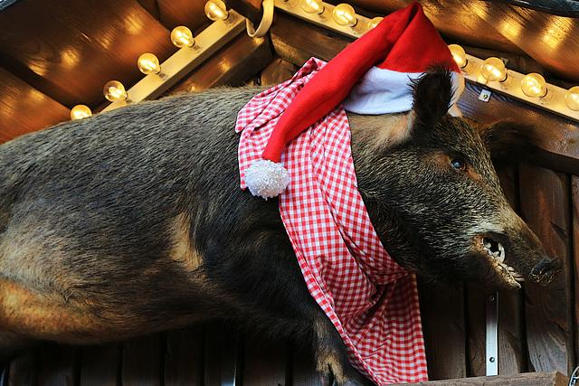 Quand je vous dis que le Père Noël est un vieux cochon !