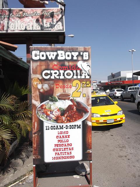 Cowboy's Criolla