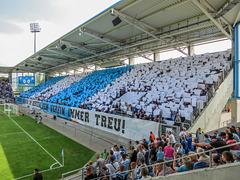 Unsere Farben im Herzen, dem Verein immer treu!