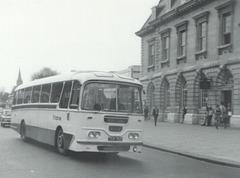 Ribble 707 (TCK 707) at Rochdale - 8 May 1972