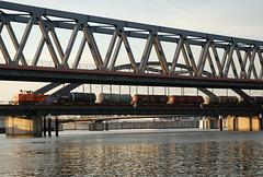 Hamburger Brücken 02/50: Billhafen-Brücke (2xPiP)