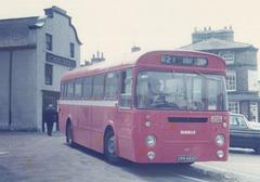 Ribble 669 (DRN 669D) at Kirby Stephen - 8 July 1975