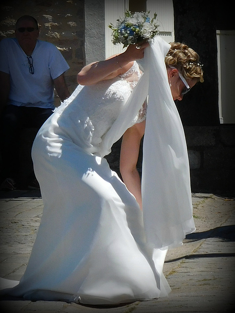 la mariée de Juillet