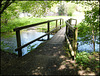 footbridge over the Tillingbourne