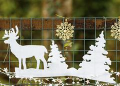 Reindeer Frieze