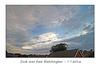 Dusk over East Blatchington 7 7 2016