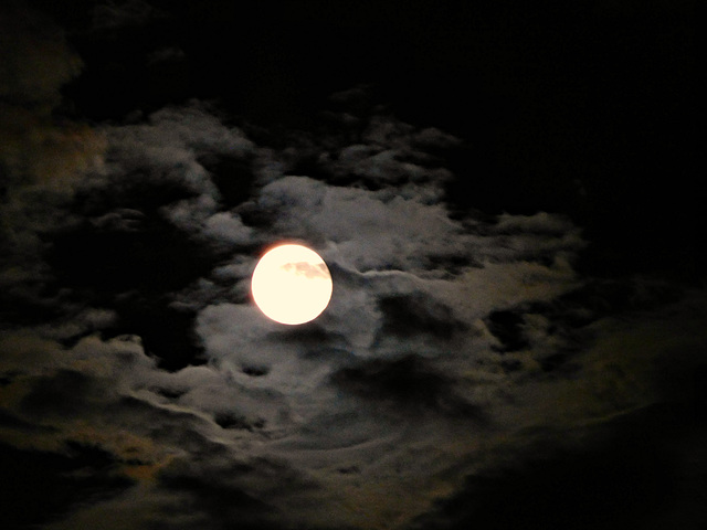 quand Madame la lune fait son show