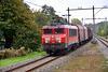 DB 1616 pulling a train to Tata steel mill