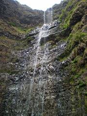 Aveiro Waterfall (110 metres).