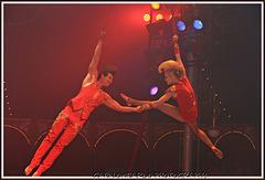 acrobati al circo