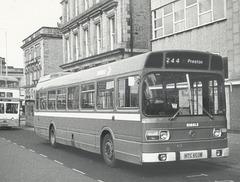 Ribble 426 (NTC 603M) at Rochdale - Aug 1976